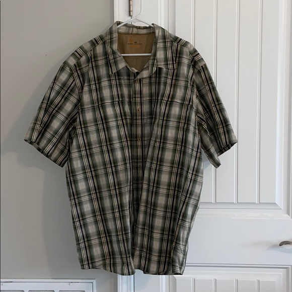 Carhartt Men's 3XL short sleeve button-up shirt